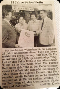 25 Jahre Salon Keibs